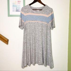 💰Lou & Grey Skater Striped Swing Dress